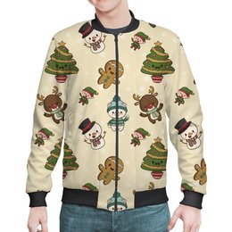 """Бомбер """"Новогодний свитер"""" - новый год, зима, рождество, классный, забавный"""