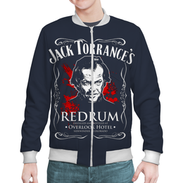 "Бомбер мужской ""Jack Torrance's"" - пародия, квентин тарантино"