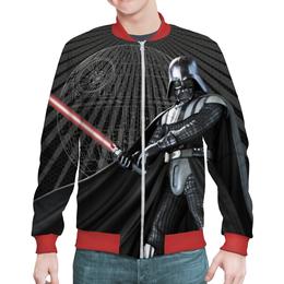 "Бомбер ""Star Wars Design (Darth Vader)"" - космос, фантастика, звездные войны, дарт вейдер, звезда смерти"