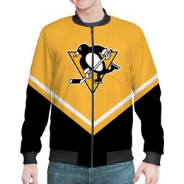 "Бомбер ""Pittsburgh Penguins"" - спорт, хоккей, питтсбург пингвинз, pittsburgh penguins"