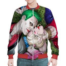 """Бомбер """"The Joker&Harley Quinn"""" - мужу, джокер, харли квинн, любителям комиксов, киномнам"""