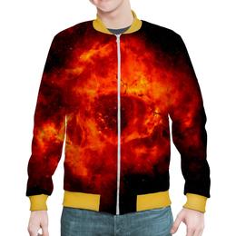 """Бомбер """"Космос в тебе!"""" - звезды, космос, вселенная, космический, thespaceway"""