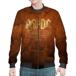 """Бомбер """"AC/DC"""" - music, rock, золото, хард-рок, асдс"""