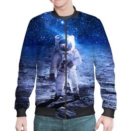 """Бомбер мужской """"The Spaceway"""" - звезды, космос, вселенная, космический, thespaceway"""