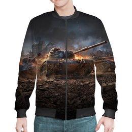 """Бомбер """"Танки"""" - 23 февраля, война, world of tanks, компьютерная игра, танки"""