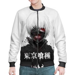 "Бомбер ""Токийский гуль"" - аниме, манга, токийский гуль, tokyo ghoul, кен канеки"