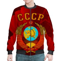 """Бомбер """"Советский союз"""" - ссср, россия, герб, флаг, серп и молот"""