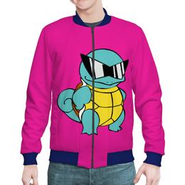 "Бомбер мужской ""PoKeMon Squirtle"" - pokemon, покемон, сквиртл, squirtle"