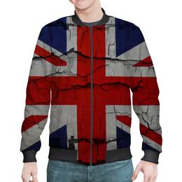 "Бомбер мужской ""Британский Флаг"" - англия, флаг, великобритания, britain, union jack"
