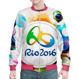 """Бомбер мужской """"Рио 2016 """" - спорт, спортивные игры, олимпиада рио 2016"""