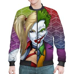 "Бомбер ""Harley Quinn & The Joker"" - джокер, харли квинн, dc комиксы, отряд самоубийц, суперзлодеи"
