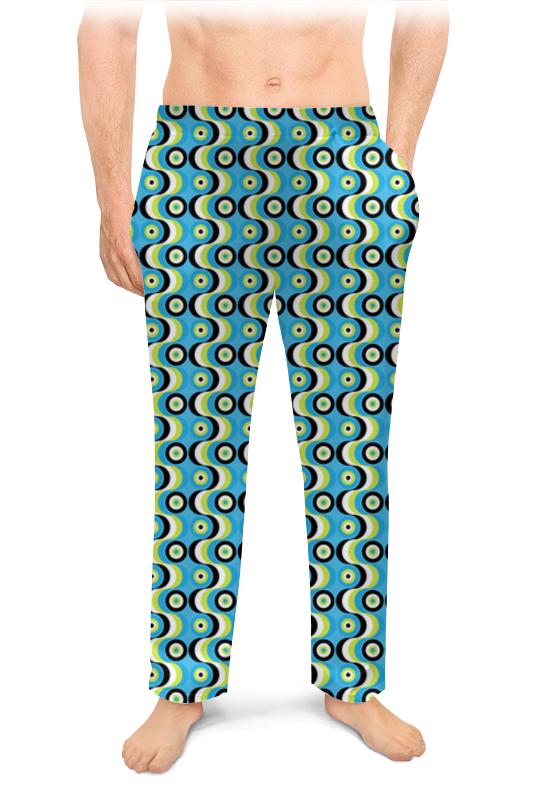 Мужские пижамные штаны Printio Волны