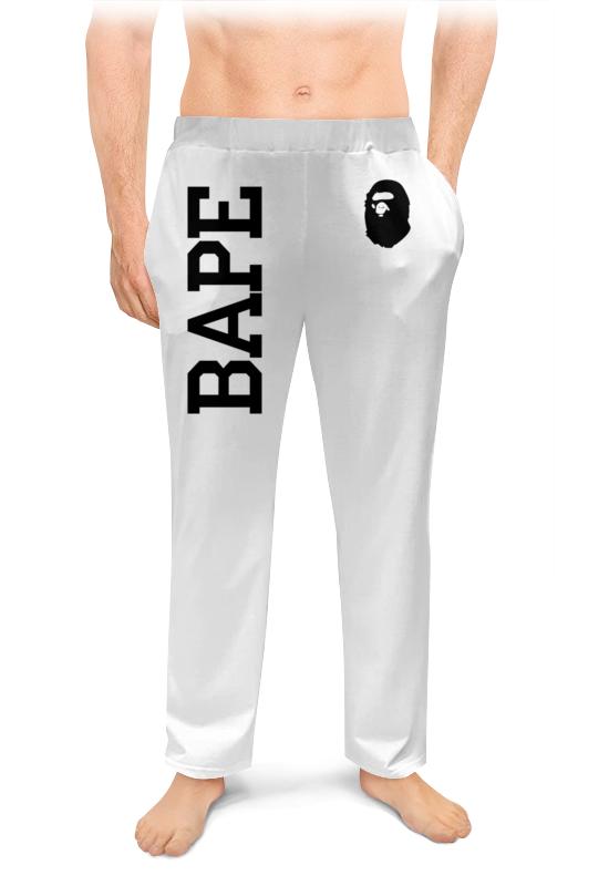 Printio Bape зауженные штаны мужские фото