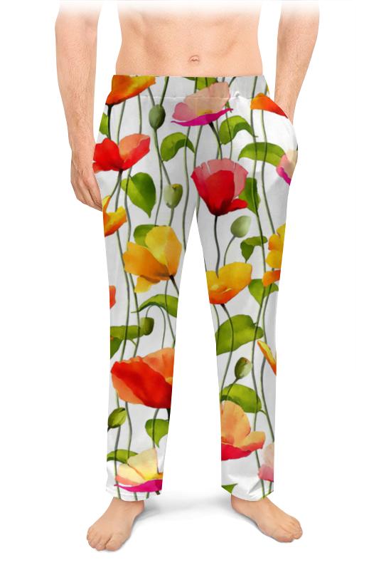 Мужские пижамные штаны Printio Маки поло print bar маки