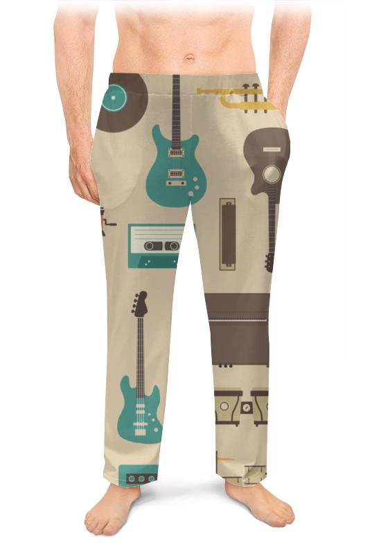 Мужские пижамные штаны Printio Музыкальные инструменты комплект плакатов музыкальные инструменты фгос до