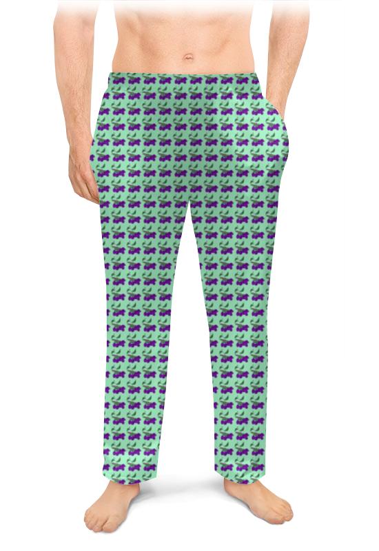 Printio Сливы зауженные штаны мужские фото