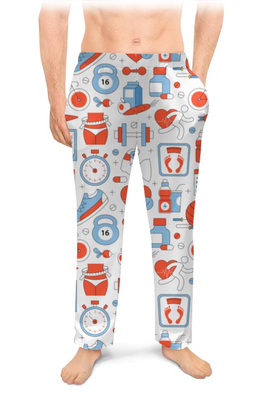 Мужские пижамные штаны Printio Спорт, фитнес боксеры мужские спорт