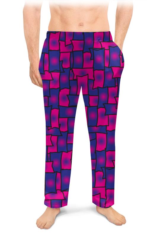 Мужские пижамные штаны Printio Прямоугольники леггинсы printio прямоугольники