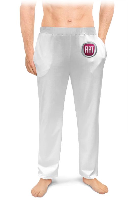 Printio Fiat зауженные штаны мужские фото
