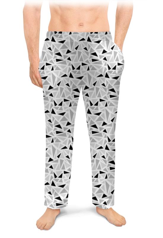 Мужские пижамные штаны Printio Геометрический узор