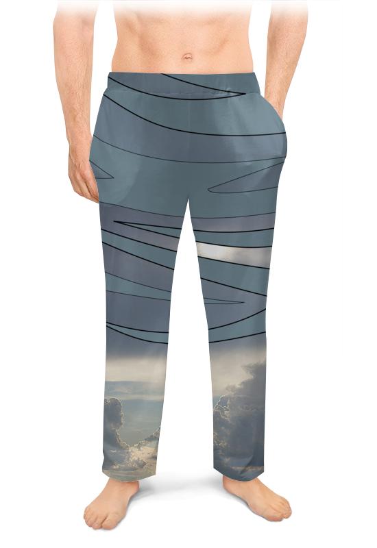 Мужские пижамные штаны Printio Выше облаков!