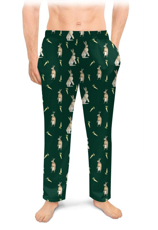 Мужские пижамные штаны Printio Братец кролик