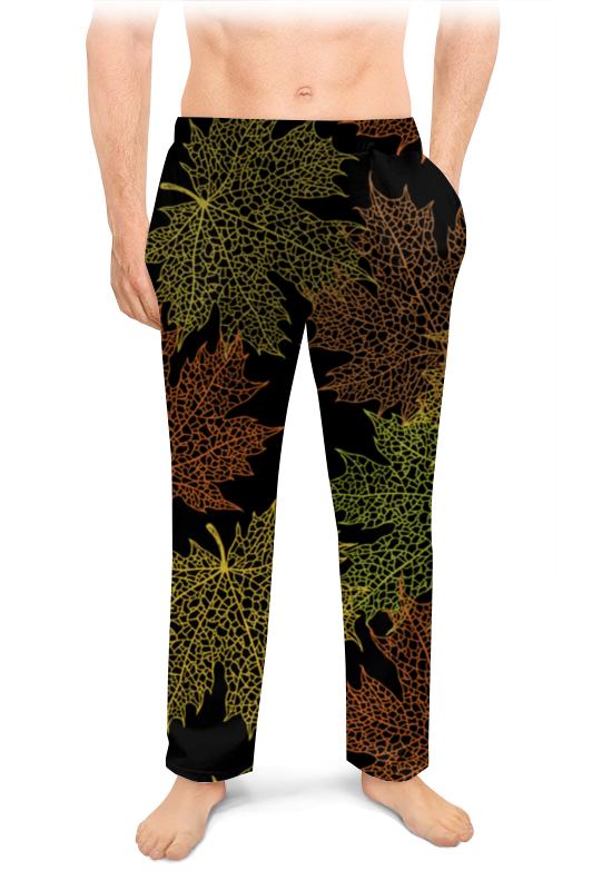 Мужские пижамные штаны Printio Кленовые листья