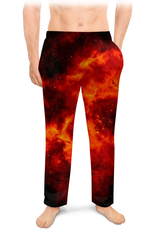 Мужские пижамные штаны Printio К звездам! александр ткаченко циолковский путь к звездам