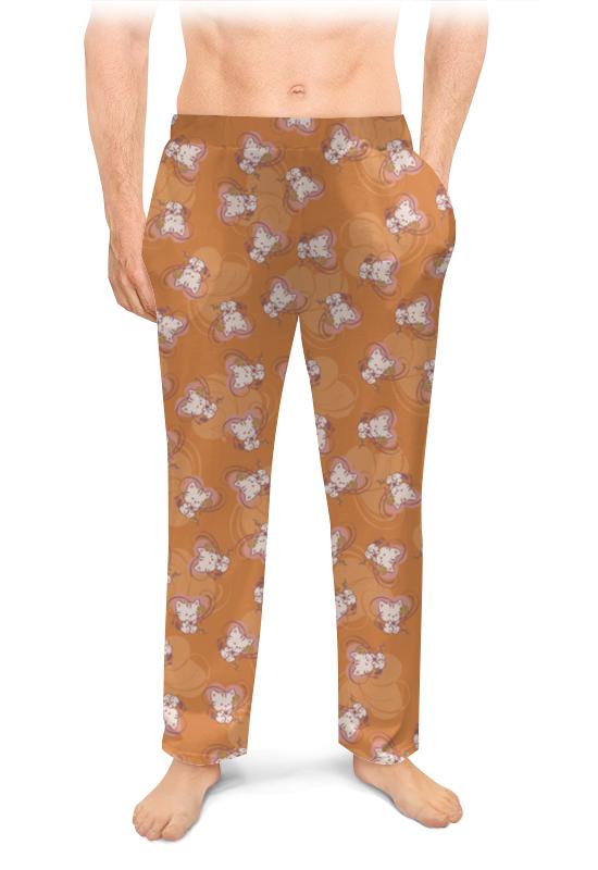 Фото - Мужские пижамные штаны Printio Котенок с клубком кружка пивная printio котенок с клубком