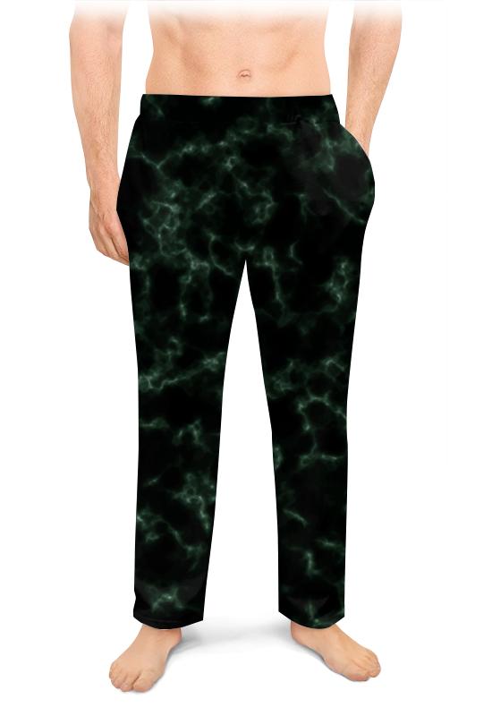 Мужские пижамные штаны Printio Элегантный мрамор