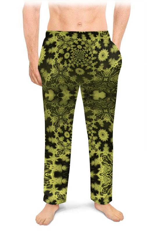 Мужские пижамные штаны Printio Тропический мираж с glo story повседневные брюки мужские штаны для брюк штаны halle harvest брюки lxk71093 black l
