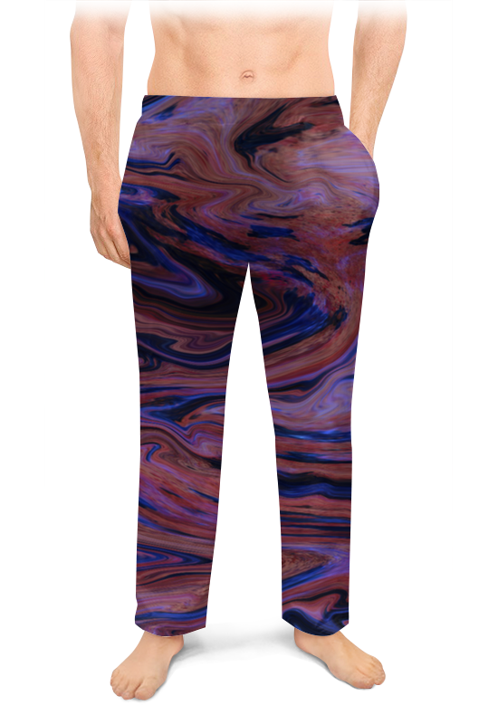 Мужские пижамные штаны Printio Абстракция