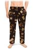 """Мужские пижамные штаны """"Кофе."""" - ретро, сладости, кофе, шоколад"""