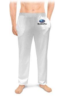"""Мужские пижамные штаны """"SUBARU"""" - авто, машина, мото, subaru, субару"""
