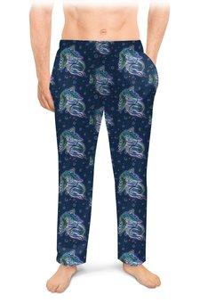 """Мужские пижамные штаны """"Дремлющая троллита"""" - девушка, тролль, графика, сказка, сладкий сон"""