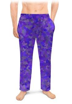 """Мужские пижамные штаны """"Glowing purple"""" - party, цвет, вечеринка, цветной, на вечеринку"""