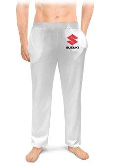 "Мужские пижамные штаны ""SUZUKI"" - авто, машина, мото, suzuki, сузуки"