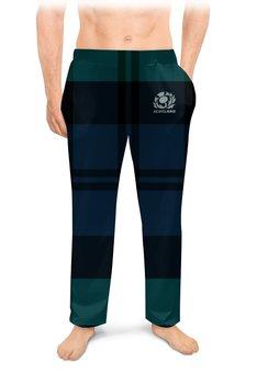 """Мужские пижамные штаны """"Шотландия регби"""" - спорт, регби, шотландия, регби стиль"""
