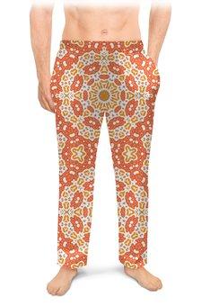 """Мужские пижамные штаны """"Нежный."""" - арт, узор, абстракция, фигуры, текстура"""