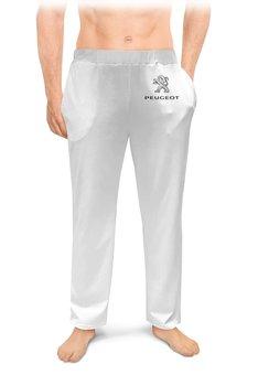 """Мужские пижамные штаны """"PEUGEOT"""" - авто, машина, мото, пежо, peugeot"""
