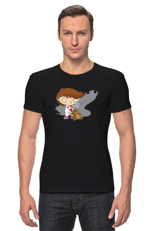 Футболка Стрэйч Printio Стьюи (гриффины) футболка рингер printio гриффины