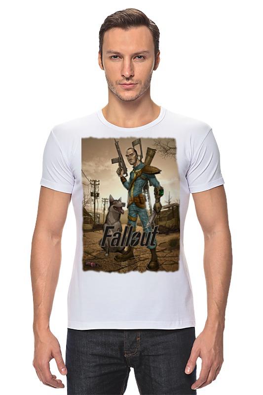 Футболка Стрэйч Printio Fallout game футболка классическая printio fallout фэллаут