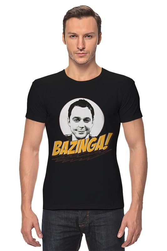 Футболка Стрэйч Printio The big bang theory sheldon cooper детская футболка классическая унисекс printio the big bang theory sheldon cooper