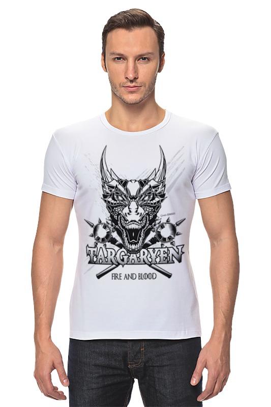 Футболка Стрэйч Printio Дракон таргариенов (игра престолов) футболка wearcraft premium printio игра престолов