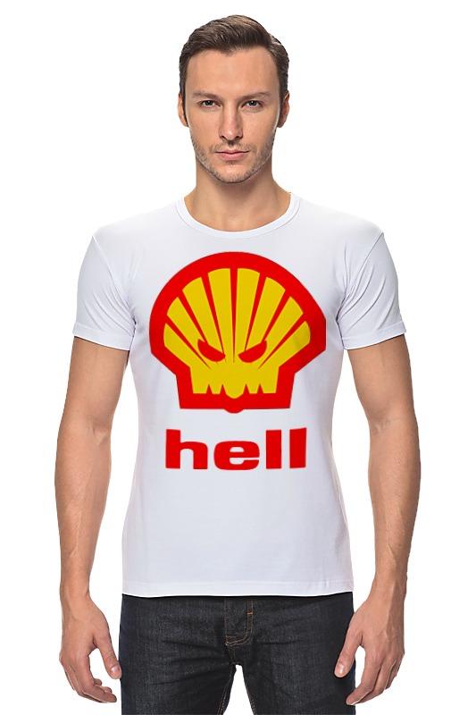 Футболка Стрэйч Printio Hell (ад) agip масло моторное в краснодаре