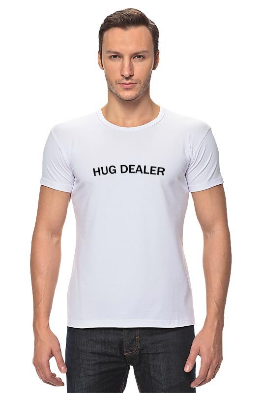 Футболка Стрэйч Printio Hug dealer