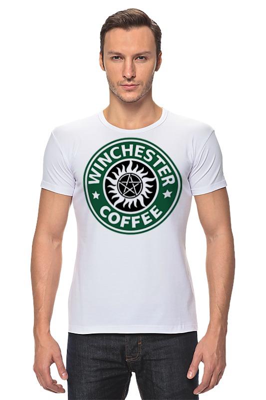 Футболка Стрэйч Printio Братья винчестер (supernatural) футболка wearcraft premium slim fit printio винчестер supernatural