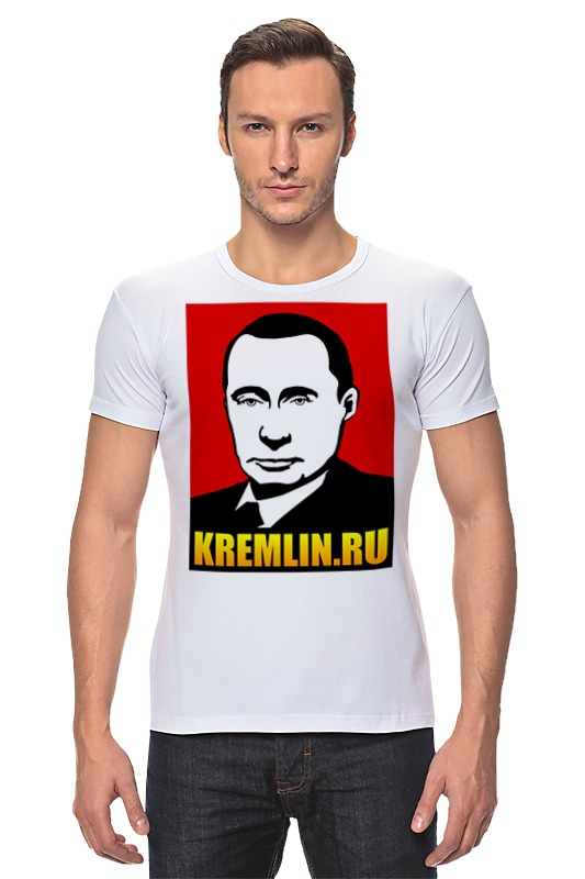 Футболка Стрэйч Printio Путин
