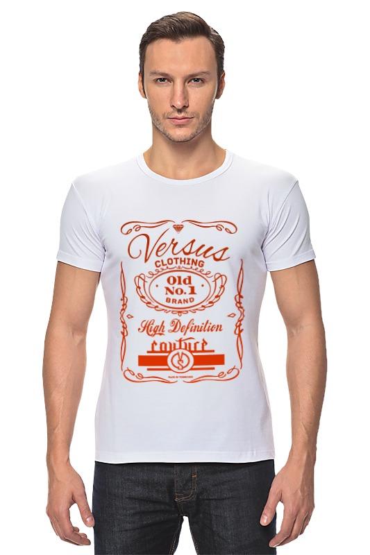 Футболка Стрэйч Printio Футболка с принтом feuille 0544 салатник овальный v 200мг цвет белый с красным