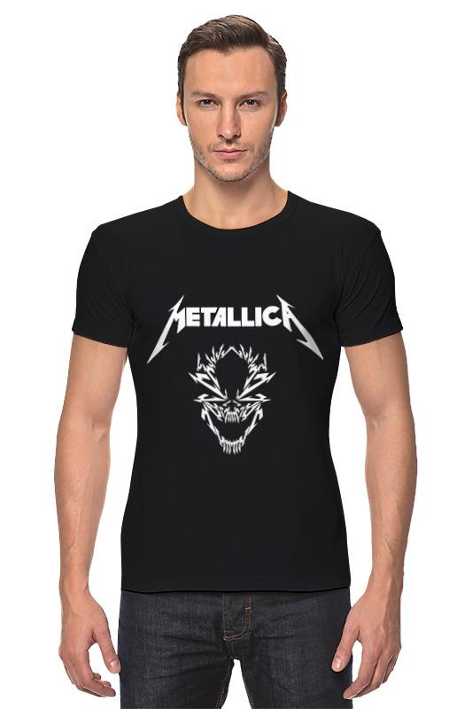 Футболка Стрэйч Printio Metallica предметы с олимпийской символикой